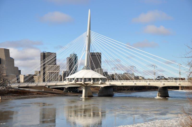Provencher桥梁 免版税库存图片