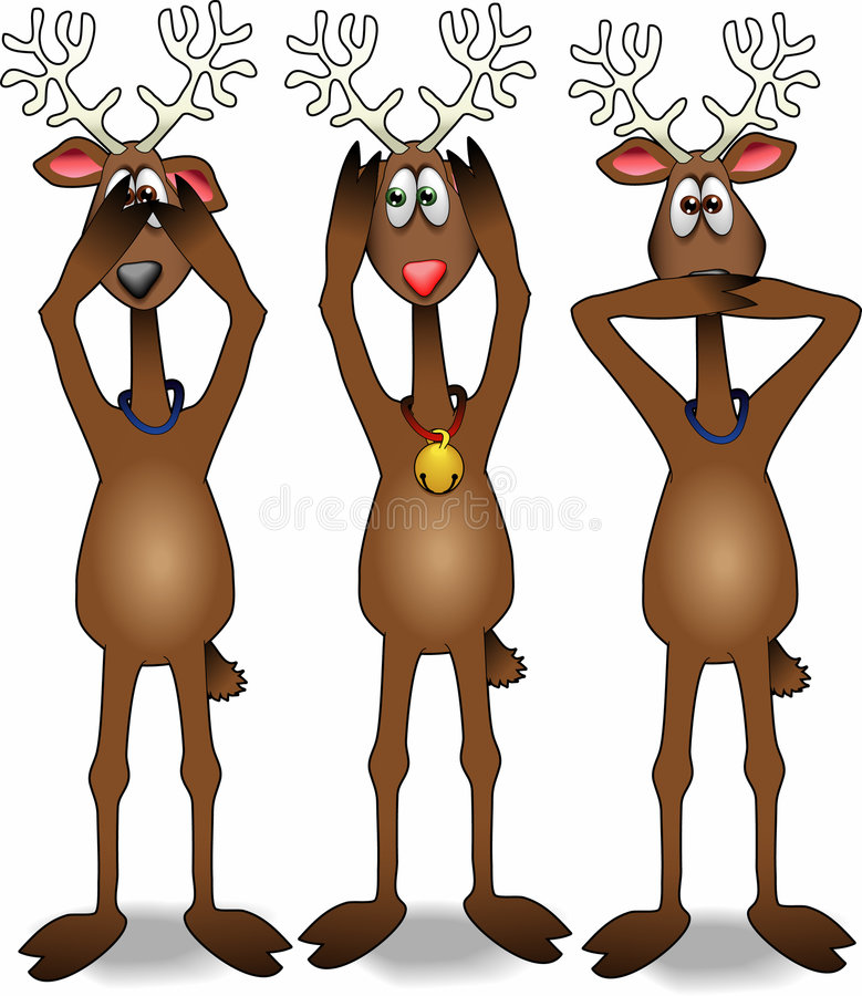 Free Proverb_reindeer_02 Royalty Free Stock Image - 6633656