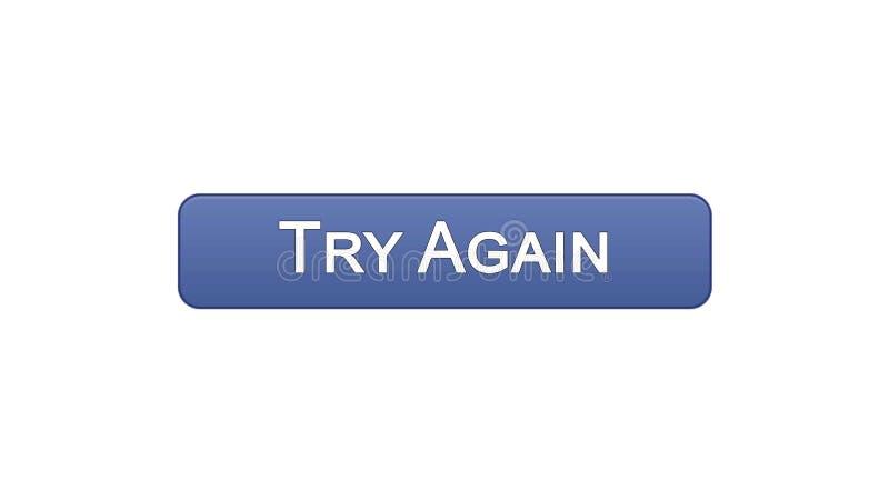 Provi ancora il colore viola del bottone dell'interfaccia di web, la progettazione del sito internet, supporto illustrazione di stock