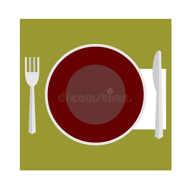 Provide etiquette on white background royalty free stock image