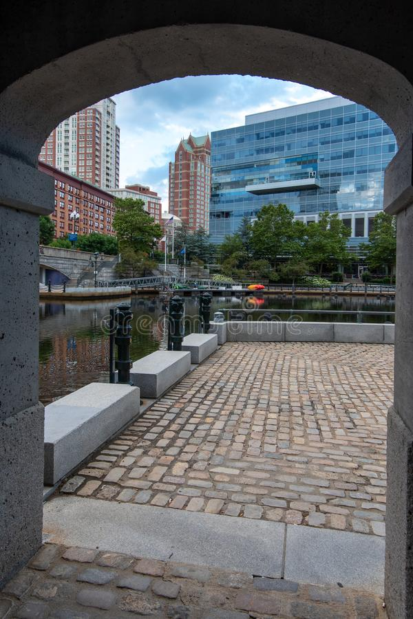 Providence-Ansicht lizenzfreies stockbild