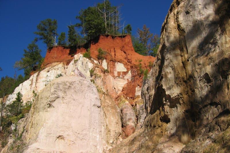 Providence Canyon, GA 1 royalty free stock photos