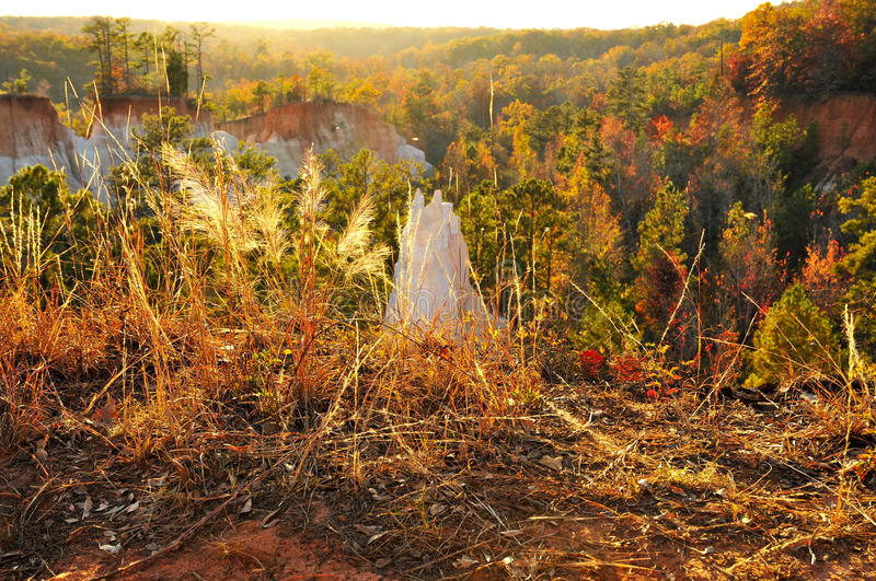 Providence Canyon stock photography