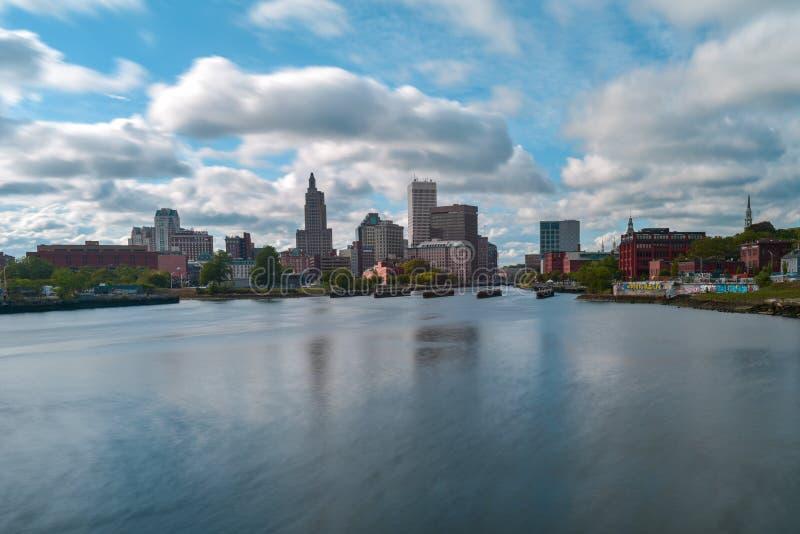 Providence del centro, Rhode Island fotografia stock