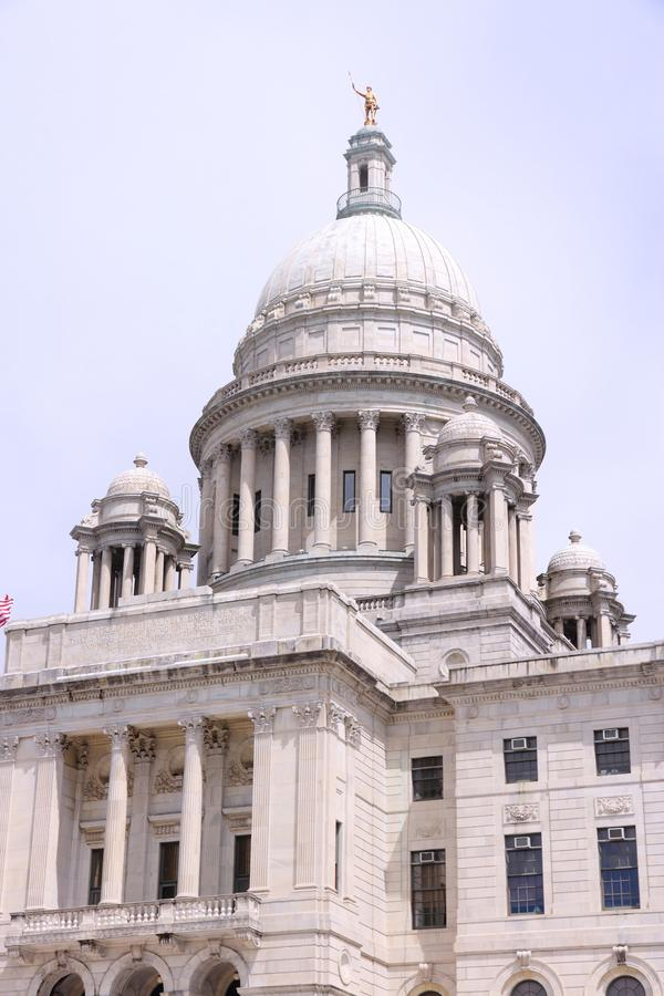 Providence. Rhode Island. City in New England region of the USA. State capitol building royalty free stock photo