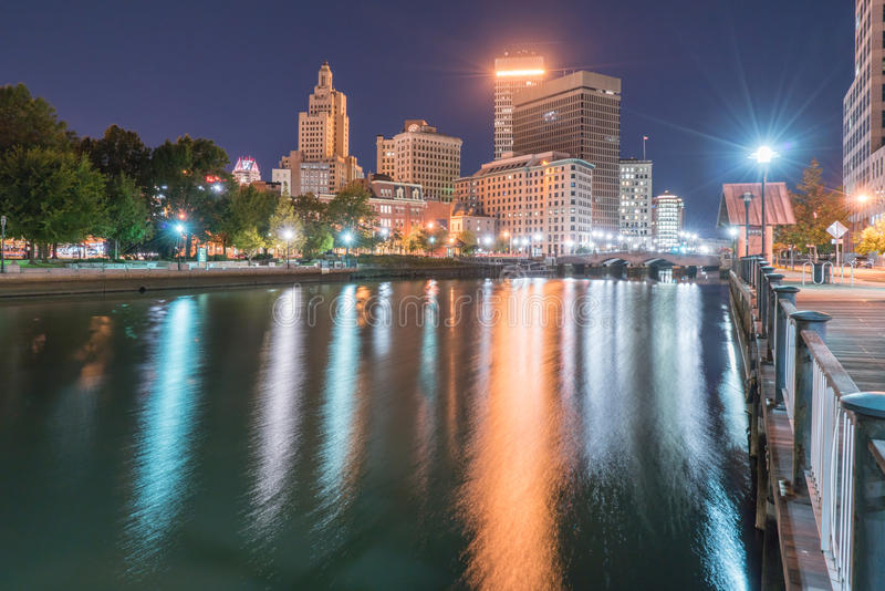 Providence, Rhode Island City Skyline royalty free stock image