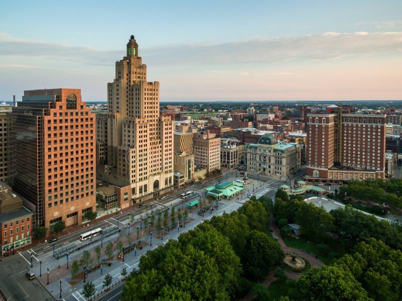 Providence Rhode Island Downtown photos stock