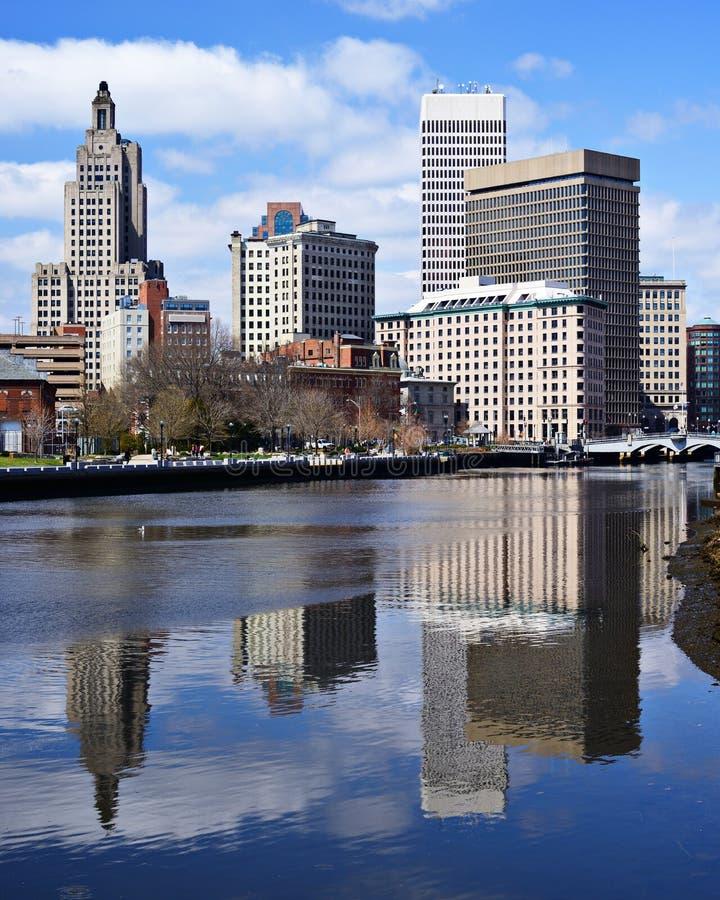 Providence, Rhode Island Skyline image stock