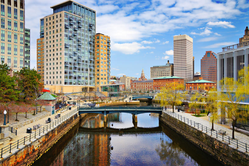 Providence, Rhode Island Skyline photos stock
