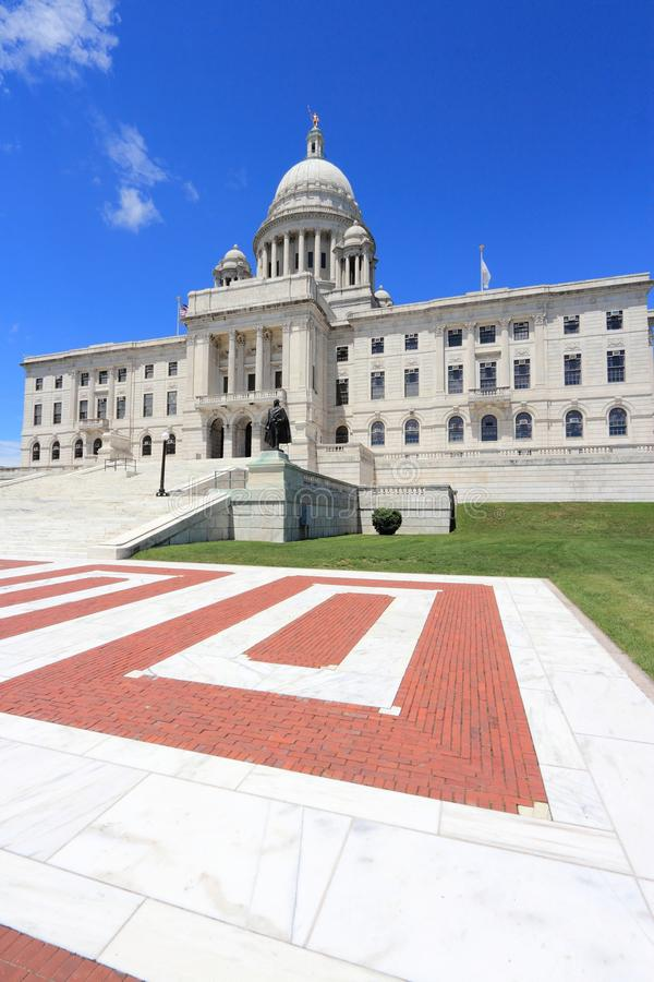 Providence Rhode Island. State capitol in Providence, Rhode Island. City in New England region of the US royalty free stock image