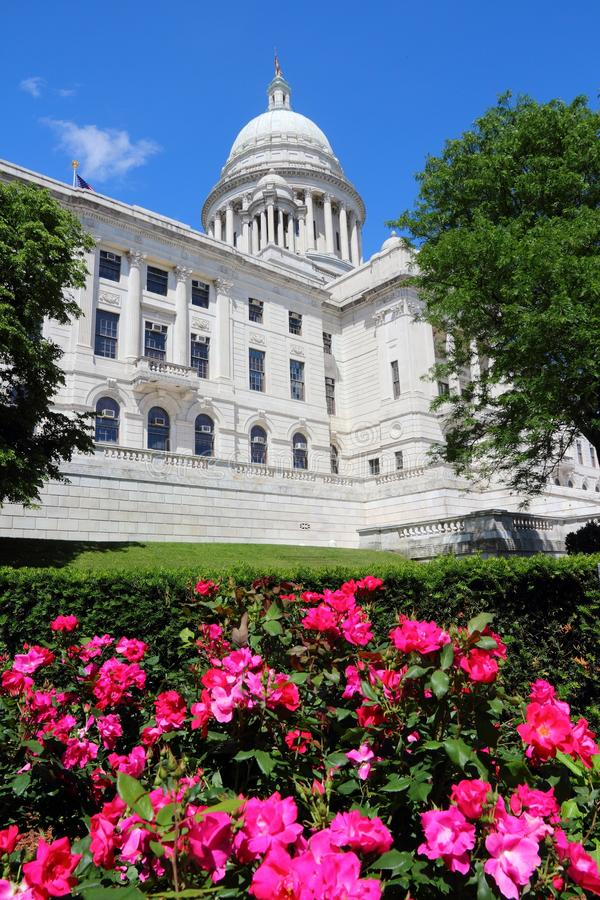 Providence, RI. Providence, Rhode Island. City in New England region of the United States. State capitol building stock photo