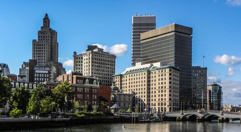 Providence, RI skyline. The Skyline in Providence, RI royalty free stock photos