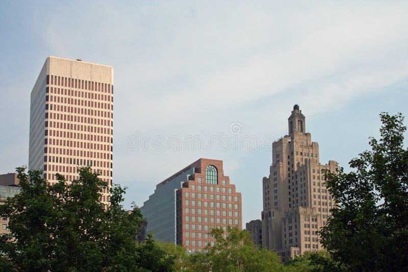 Providence-Skyline lizenzfreie stockfotografie