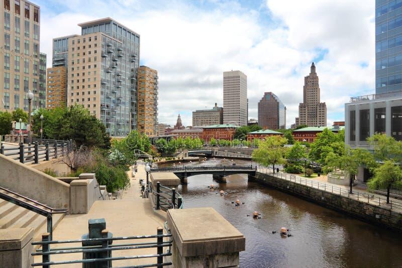 Providence-Stadt stockfotografie
