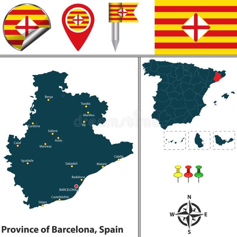 Province Of Barcelona Spain Stock Vector Illustration of sabadell