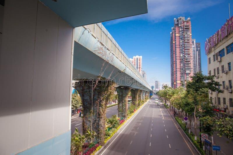 Province de Fujian de ville de Xiamen de la Chine photographie stock libre de droits