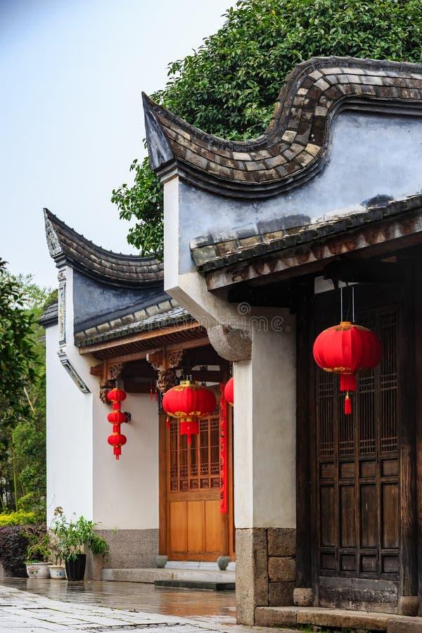 Province de Fuzhou, Fujian, Chine 7 MARS 2019 : le secteur historique et culturel célèbre Sanfang Qixiang à Fuzhou images libres de droits
