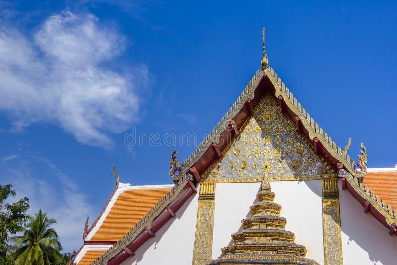 Province de Nan de temple de Phumin, Thaïlande images libres de droits