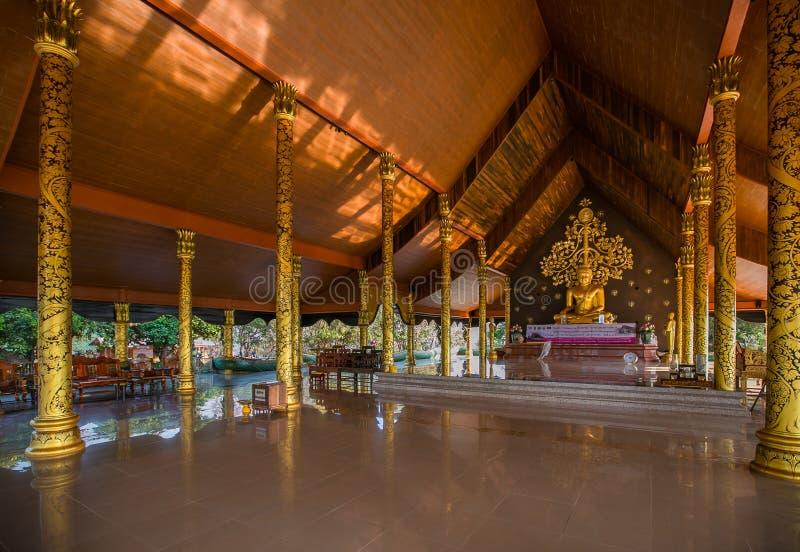 Province de Wat Phu Praoin Ubon Ratchathani de temple de Sirindhorn Wararam Phu Prao image libre de droits