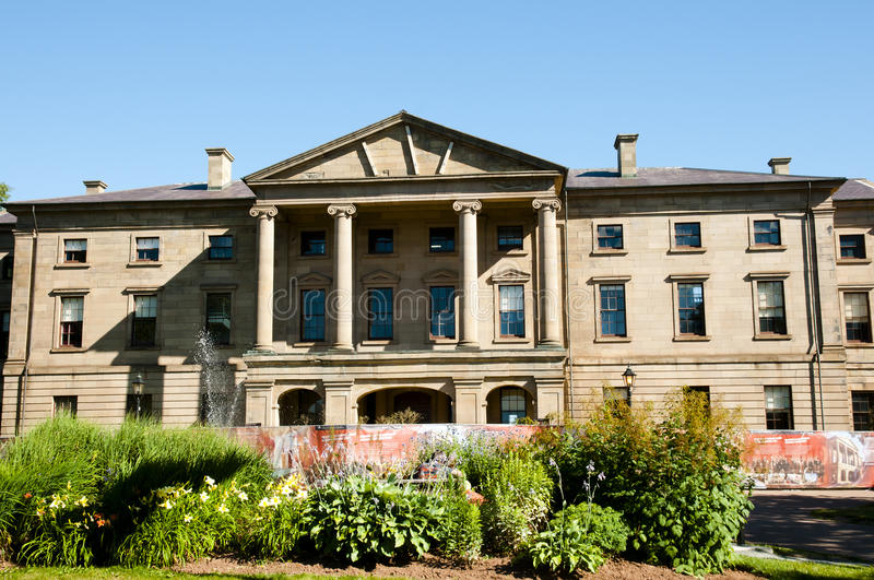 Province House - Charlottetown - Canada. Province House in Charlottetown - Canada royalty free stock images
