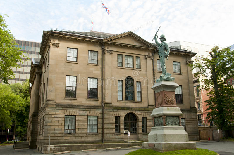 Province House - Halifax - Canada. Province House in Halifax - Canada stock photo