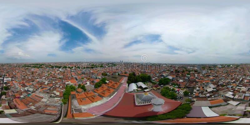 Province Indonésie vr360 de Jawa Tamerlan de capital de Sorabaya banque de vidéos