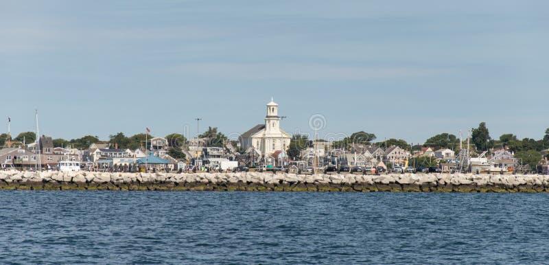 Provincetown港口 免版税图库摄影