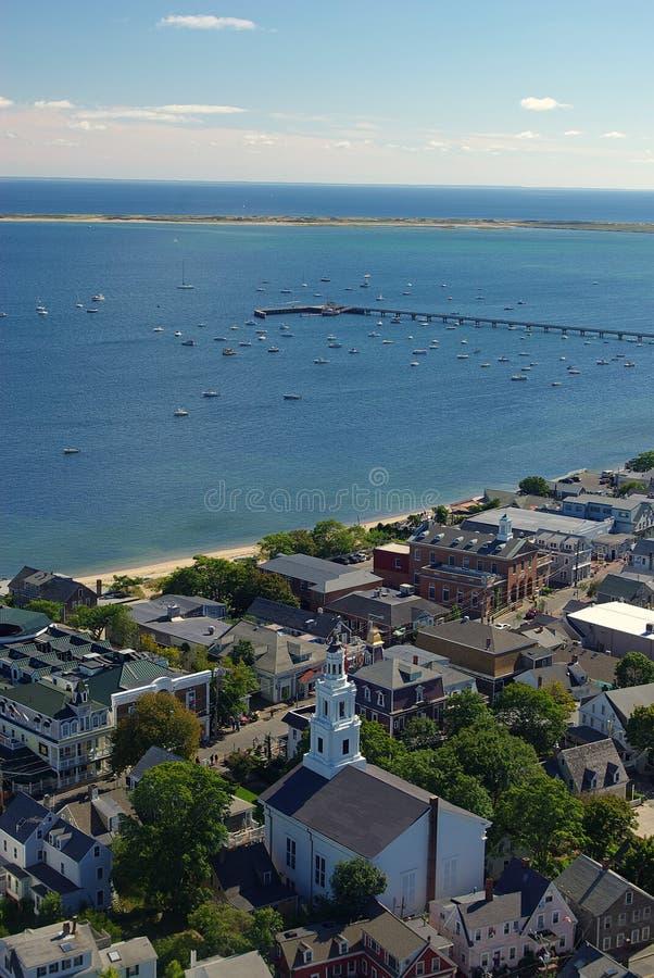 provincetown залива стоковые изображения rf