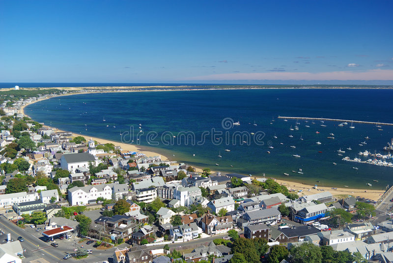 Provincetown Bay stock image