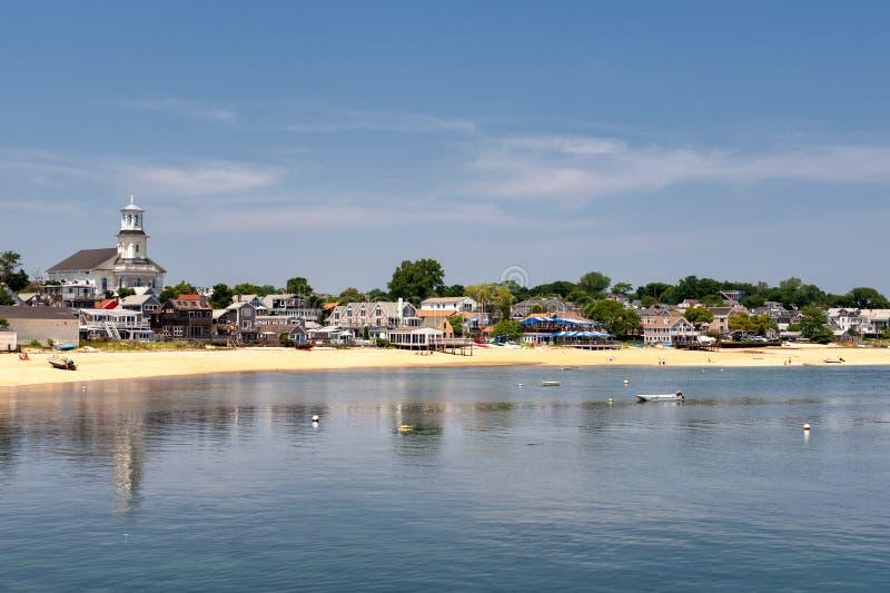 Provincetown, miliampère - a aterragem de Mayflower foto de stock royalty free