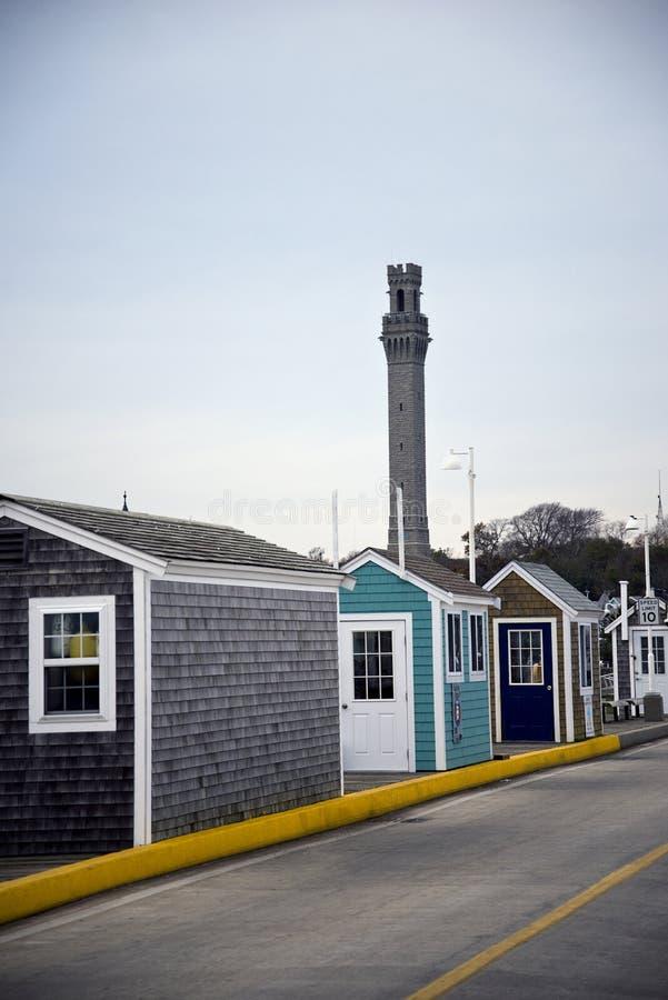 Provincetown USA royaltyfri fotografi