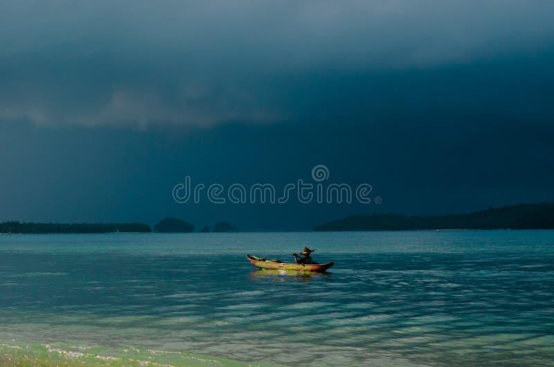 Provincia ad ovest delle isole di Mentawai, Sumatra, Indonesia fotografia stock libera da diritti