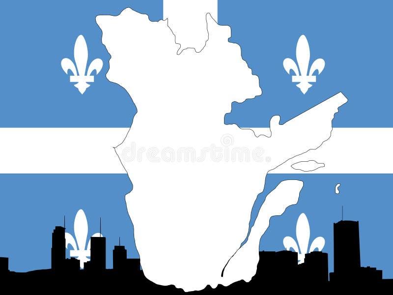 Provincia de Quebec libre illustration