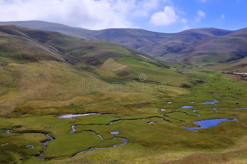 Provincia di Yunnan della Cina, il plateau immagini stock libere da diritti