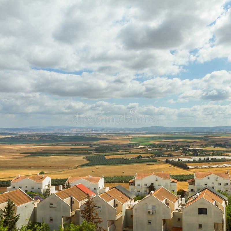 Provincia en Israel norteño fotos de archivo