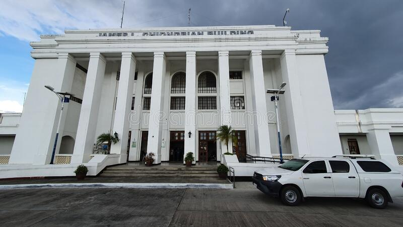 Provincial Capitol Building of Sarangani Province, Philippines royalty free stock image