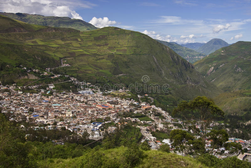 Provincie Ecuador - Alausi - Chimborazo royalty-vrije stock afbeeldingen