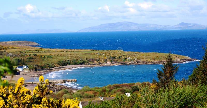 Provincie Kerry Bay stock afbeelding