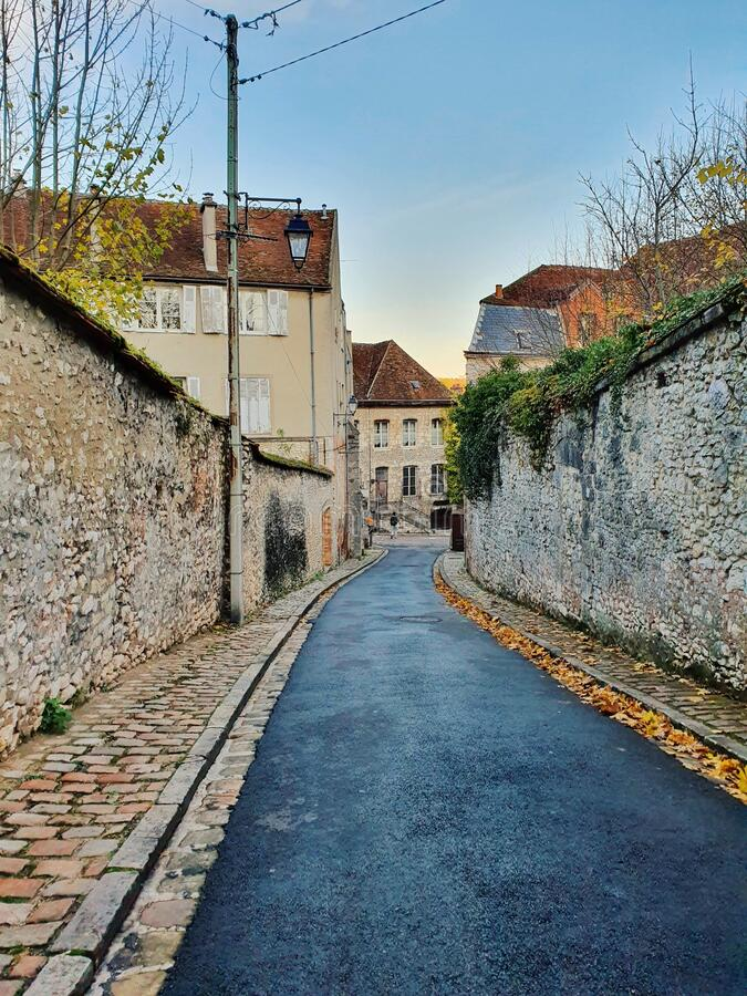 Provins, medieval city and the world heritage site, Provins, France stock photography