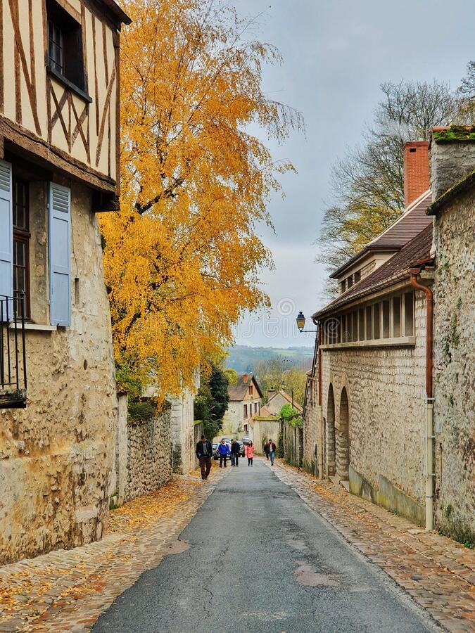 Provins, medieval city and the world heritage site, Provins, France royalty free stock photos