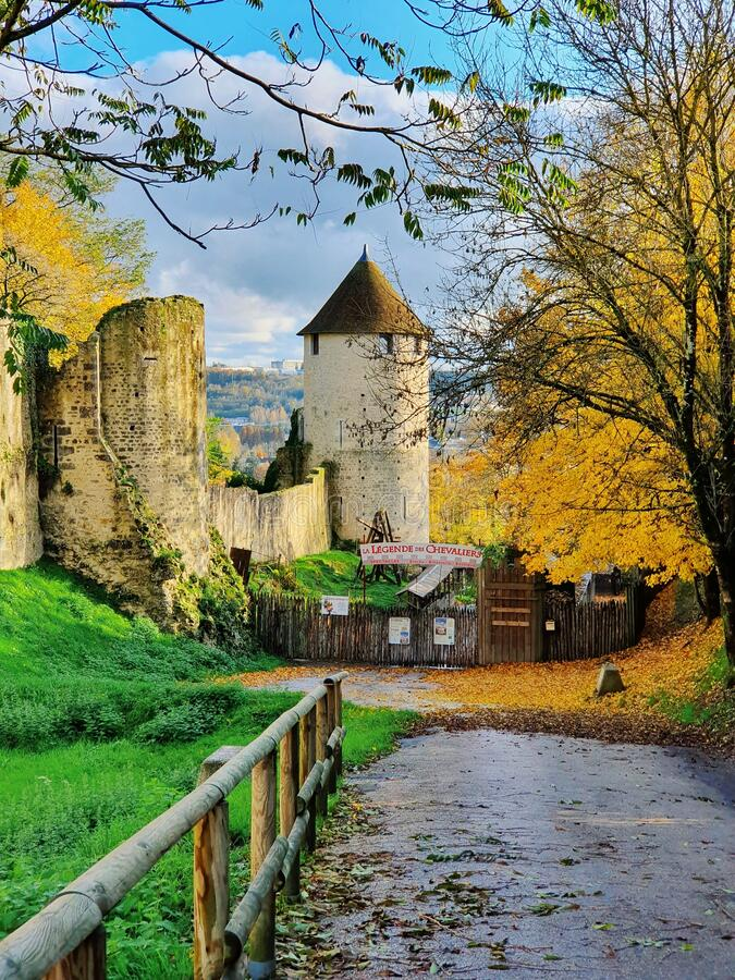 Provins, medieval city and the world heritage site, Provins, France stock image