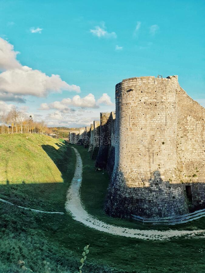 Provins, medieval city and the world heritage site, Provins, France royalty free stock images