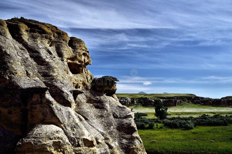 provinsiell stenwriting för park fotografering för bildbyråer