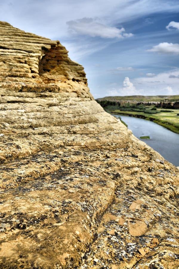 provinsiell stenwriting för park royaltyfri fotografi
