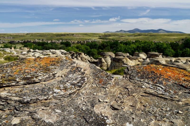 provinsiell stenwriting för park arkivfoton