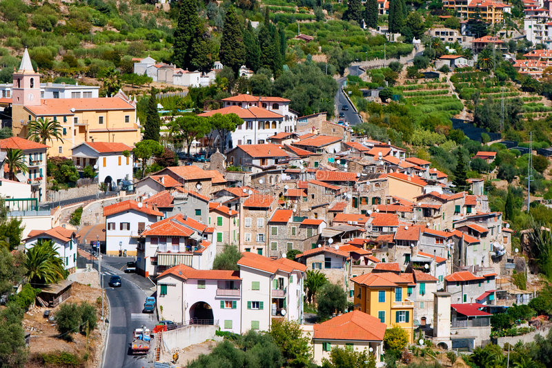 Provinz von Savona. Italien stockfotos