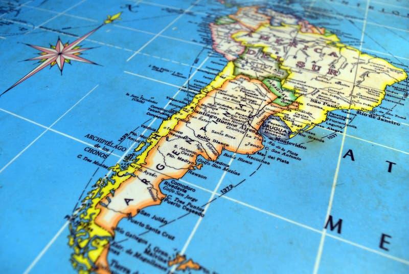 Provinzen von Argentinien stockfoto