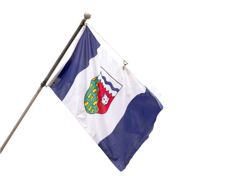 Provinzielle Flagge der Nordwest-Territorien, Cana lizenzfreie stockfotografie