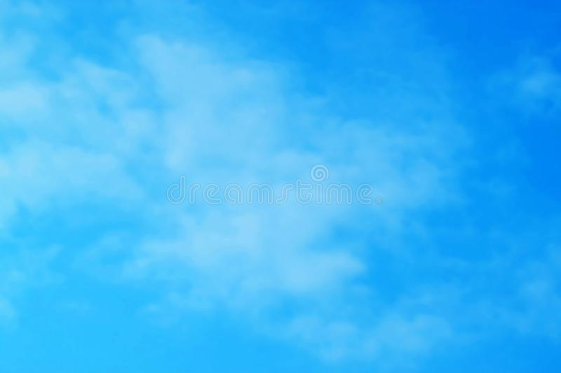 Provision-photo-ciel-nuage-bleu-avion-fond images libres de droits