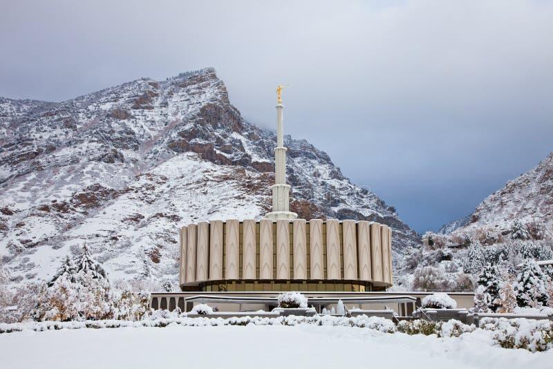Provo Świątynia obraz royalty free